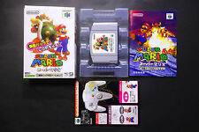SUPER MARIO 64 RUMBLE EDITION + inst.card Nintendo 64 N64 JAPAN GC/VGC !