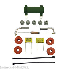 KENWOOD CHEF A701 A701A A707, 2 CAP MOTOR REPAIR KIT WITH BRUSHES, MOUNTS & FEET