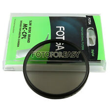 FOTGA 52mm PRO1-D Super Slim Multi-Coated MC CPL Circular Polarizing Lens Filter