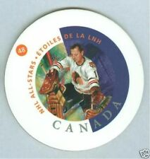 Glenn Hall 2002 Canada Post Hockey NHL Coaster '02 Chicago Black Hawks