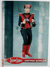Captain scarlet-individuelle trading card #34, captain scarlet-invincible