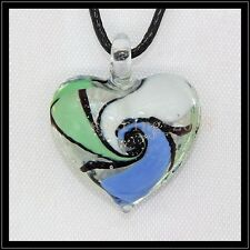 2016 New Love lampwork Murano art glass beaded pendant necklace BB72