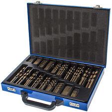 HSS-CO Spiralbohrer Set 1-10 mm DIN 338 Typ N 5% Cobalt Eisen Metall Bohrer Set