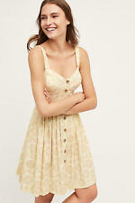 NEW ANTHROPOLOGIE Cafe Dress 0 XS Extra Small by Maeve Floral