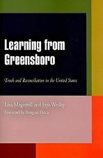 Pennsylvania Studies in Human Rights: Learning from Greensboro : Truth and...