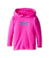 O'Neill Wetsuits Girls UV Sun Protection Toddler Skins Hoodie Rashguard Berry 6