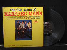 Manfred Mann - The Five Faces of Manfred Mann on Ascot Records ALM 13018