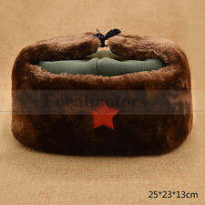 Lei Feng Cap Chinese Army Red Star Winter Hat Mao Communist Party New 1PC
