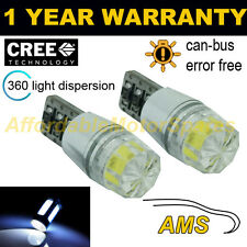 2X W5W T10 501 CANBUS ERROR FREE WHITE SMD LED NUMBER PLATE LIGHT BULBS NP103302