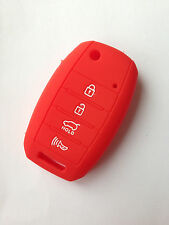 Red Fob Skin Key Cover Protector Remote Keyless for kia Flip Sorento Rio Soul