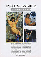 Coupure de presse clipping 054 1988 PLAYBOY Un Mousse sans Voiles   (8 pages)