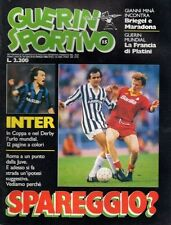 GUERIN SPORTIVO=N°15 1986=POSTER MILAN 85/86 CM 40X27=TUTTOCOPPE=GERMANIA 1974
