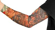 Tattoo-Armling Tiger Drachen Tattoostrumpf Tattooärmel Armling Karneval Fasching