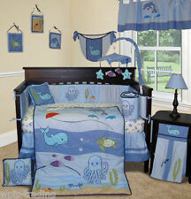Baby Boutique - Under the Sea - 13 pcs Crib Bedding Set