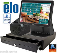 ALDELO2013 PRO ELO SANDWICH SHOPS RESTAURANT ALL-IN-ONE COMPLETE POS SYSTEM NEW