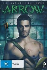 ARROW The COmplete First Season DVD NEW Stephe Amell