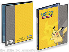 Pokemon Pikachu Cards Album, 10 x 4 Pocket Sheets Ultra Pro Portfolio