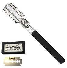 WILKINSON 5 blades+ Dual Way HAIR SHAPER THINNING HAIR CUTTING RAZOR COMB THR11