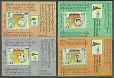 Philippines Stamps 1996 Rizal's 'Mi Ultimo Adios' complete MNH