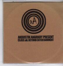 (DE663) Akoustik Anarkhy - Class aA: Beyond Entertainment - DJ CD