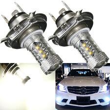 2x 80W H4 9003 HB2 CREE LED Headlight Bulb High Low Beam Lamp 8000K White Light