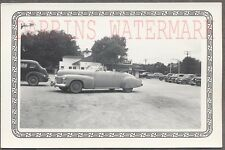 Vintage Car Photo Roadside 1941 Cadillac Convertible Automobile 704588
