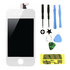 Iphone 4S LCD Display Touch Screen Digitizer Glass Panel & Tools Sticker White