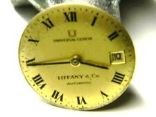 ladies tiffany & co universal geneve automatic watch movement parts repair only