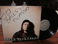IRON MAIDEN BRUCE DICKINSON BALL TO PICASSO EX VG EMI LP 1994 BRAZIL GATEFOLD
