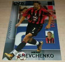 CARD CALCIATORI PANINI 2004/05 MILAN SHEVCHENKO CALCIO FOOTBALL SOCCER ALBUM