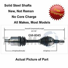 2000-2009 CHEVROLET IMPALA CV Axle Shaft-New Front Left FITS MANY OTHER MODELS