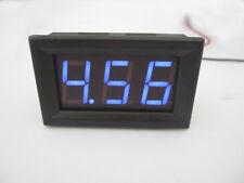 Digital MiNi 4.5-30V Blue LED Car Truck Voltmeter Gauge Voltage Volt Panel Meter