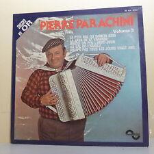33T Pierre PARACHINI Vinyle LP P'TIT BAL SAMEDI  SOIR 3 Musette SONOPRESSE 16768
