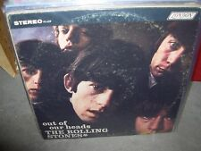 ROLLING STONES out of our heads ( rock ) london boxed ffrr RARE made in england