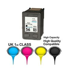 2 REMANUFACTURED HP 56 ink cartridge for HP printer