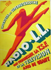 Radio-L.L. Original Vintage Advertising Poster