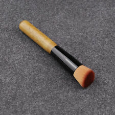 Oblique Buffer Foundation Puderpinsel Kosmetik Make-up Werkzeug Holzgriff Pinsel