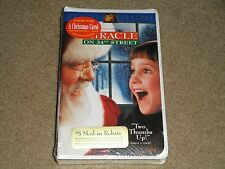 NEW SEALED  MIRACLE ON 34th STREET VHS 1995 E. PERKINS D. MCDERMOTT ATTENBOROUGH