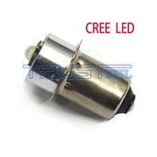 3W 6-24V Cree P13.5S Led Flashlight Replacement bulb 6v12v18v Lantern Work Light