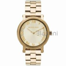 Michael Kors Original MK3560 Women's Norie Gold Stainless Steel Watch 38mm