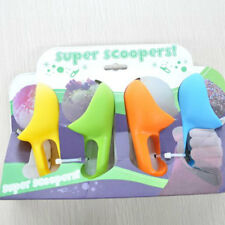 Handy Ice Cream Spoon Scooper Grip Pack of 4 Assorted Colours Easy to Use