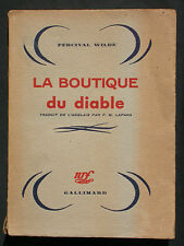 La boutique du diable - Percival Wilde - NRF Gallimard