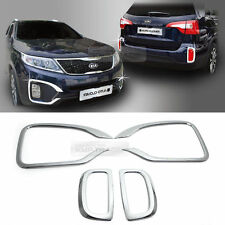 Chrome Fog Lamp Cover Garnish Molding Trim C448 For KIA 2013-2014 Sorento R