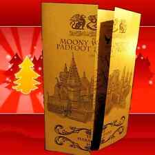 MARAUDERS MAP CHRISTMAS GIFT SET FOR HIM HER WITCH WIZARD HARRY POTTER HOGWART*
