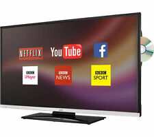 "JVC 40"" Smart Ultraslim Full HD LED Tv + Dvd + Freeview HD+Usb Record&Play+Wifi"