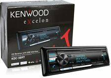 Kenwood Excelon KDC-X897 Car CD Receiver Built in Bluetooth w A2DP New KDCX897