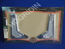 Harley touring electra glide front lightbar passing lamp bracket covers 68613-01