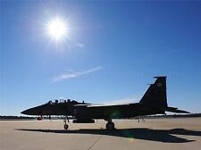 MILITARY AIR PLANE FIGHTER BOMBER SUN JET F-15E POSTER ART PRINT PICTURE BB977A