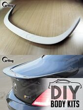 CARKING DIY / 04 08 UNPAINTED PRIMED BMW 6-SERIES E63 A style REAR TRUNK SPOILER