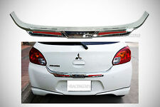 CHROME TAILGATE BUMPER COVER For Mitsubishi Mirage 5dr Space Star 6th 2012-15